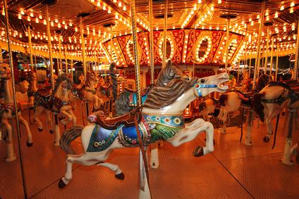 Horses on a Carousal
