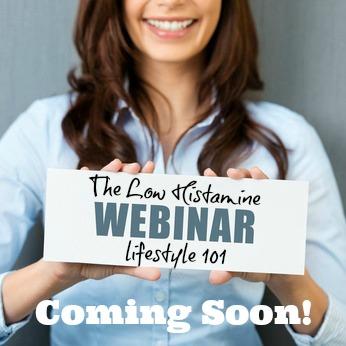 low histamine 101 webinar