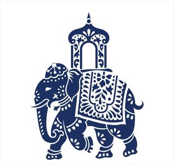 Elephant, festival ,Jaipur, Royal Rajasthan, India, Asia