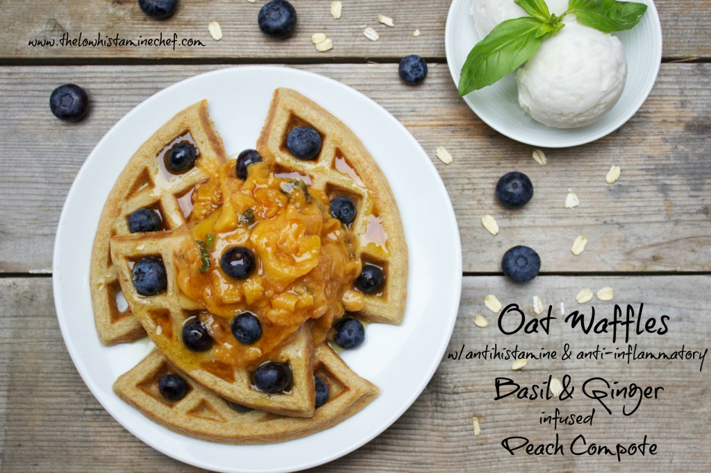 high nutrient low histamine waffles