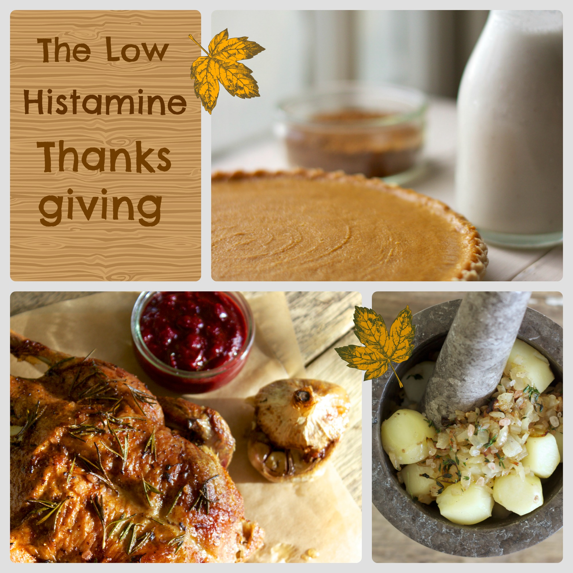Low Oxalate Thanksgiving Foods