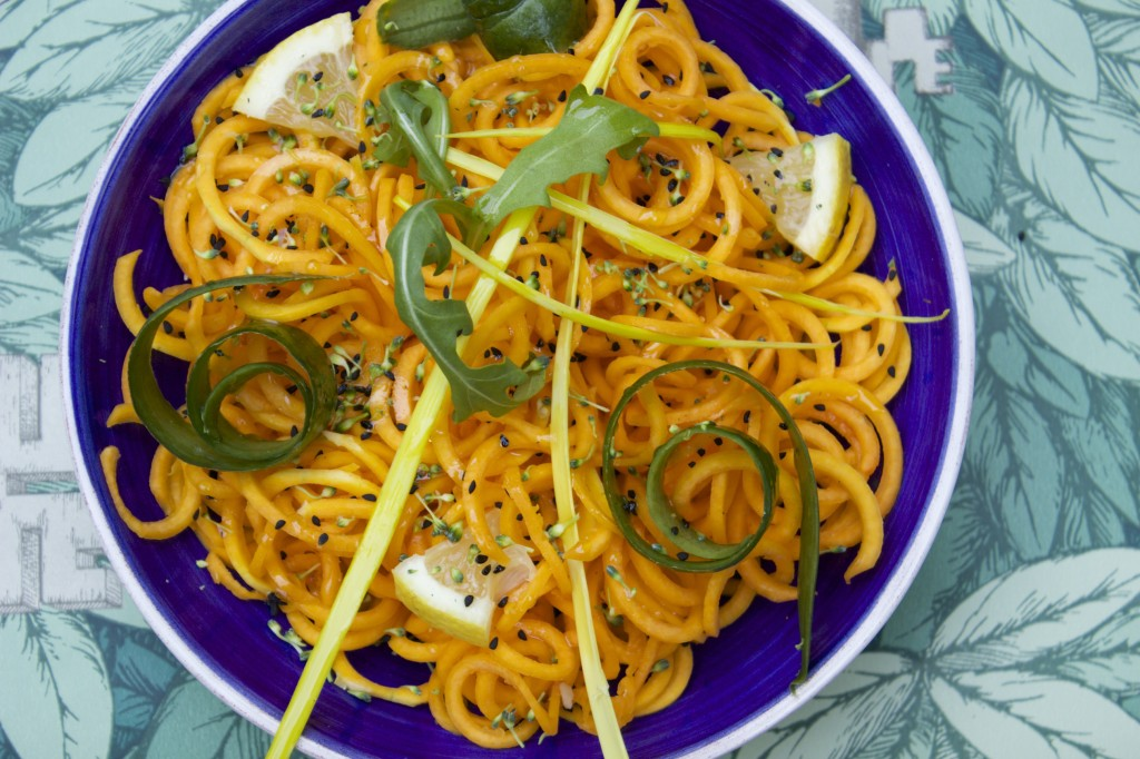 low oxalate low histamine butternut squash noodles