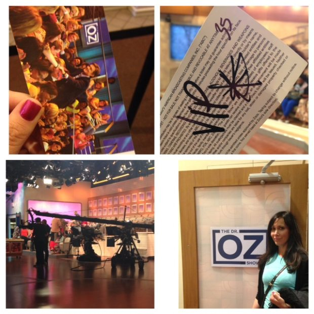Adventures on the Dr Oz Show