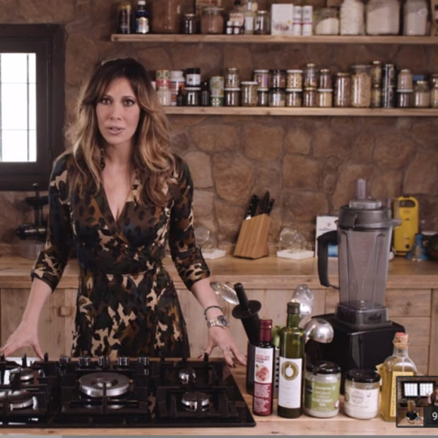 Video! Roasted Butternut Squash, Shallot and Saffron Soup