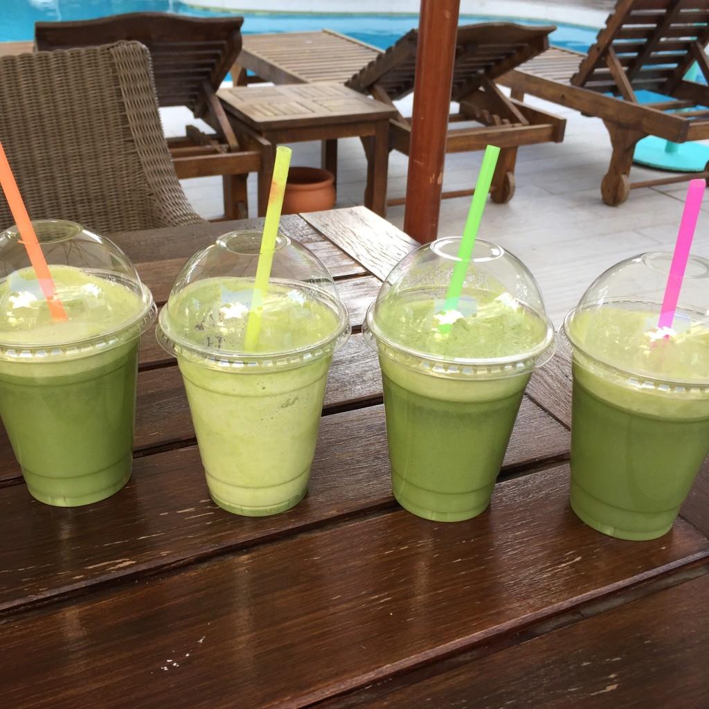 antihistamine green juice