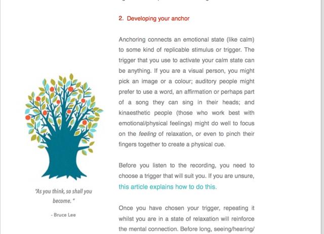 hypnotherapy course week 1 pdf