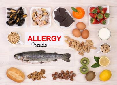 pseudo allergy foods