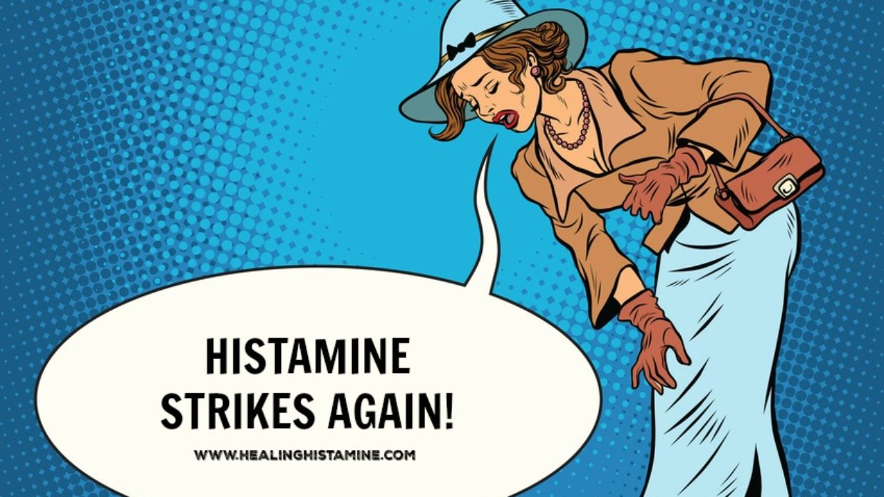 Negative food experiences make future histamine reactions more likely