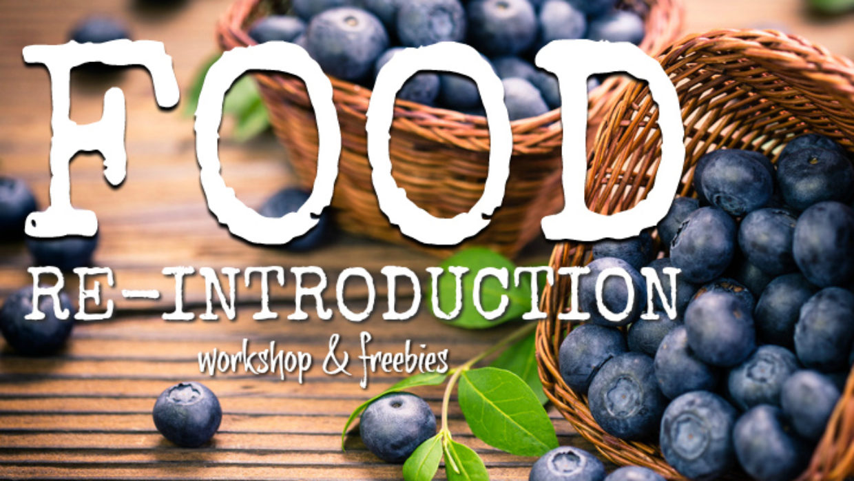 Food re-introduction workshop for histamine intolerance