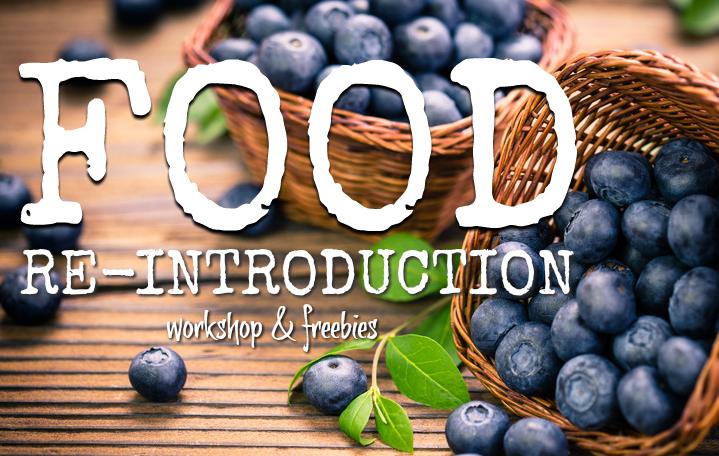 Food re-introduction workshop for histamine intolerance